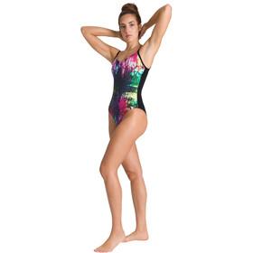 arena Grace U Back Jednoczęściowy strój kąpielowy Kobiety, kolorowy/czarny